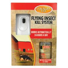 Country Vet Q Mist Automatic Flying Insect Control Kit - TB