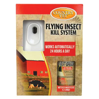 Country Vet Q Mist Automatic Flying Insect Control Kit
