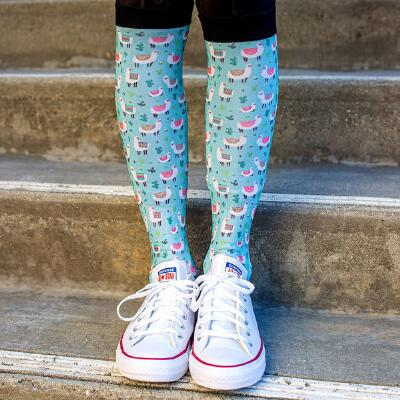 Dreamers and Schemers Llamazing Boot Socks Pair and A Spare