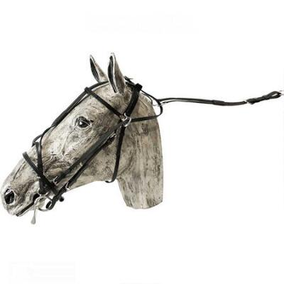 Feather-Weight Double Overcheck Bridle