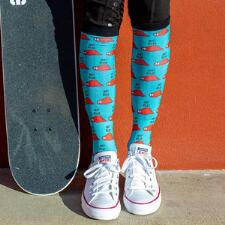 Dreamers and Schemers Relax 2 Boot Socks Pair and A Spare - TB