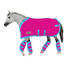 Breyer Blanket and Shipping Boots Hot Pink - TB
