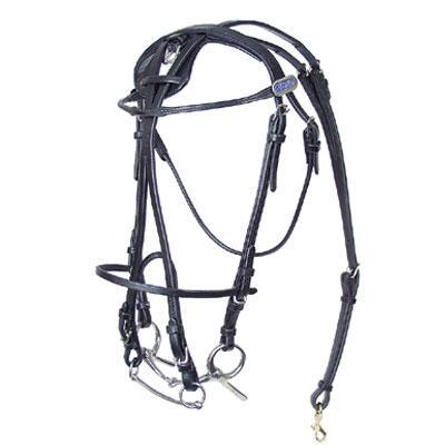 Featherweight Open Bridle Leather