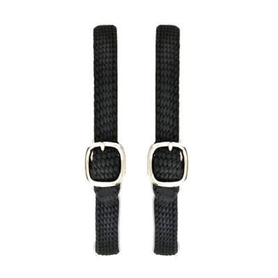 Centaur English Spur Straps - Braided Nylon