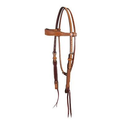 Basket Stamp Gag Browband Headstall