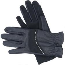 Riding Gloves with Rhinestones - TB