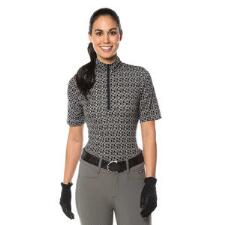 Kerrits Cool Ride Ice Fil Ladies Hoof Links Half Zip - TB