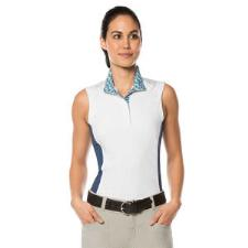 Kerrits Affinity Sleeveless Ladies Show Shirt - Harbor - TB
