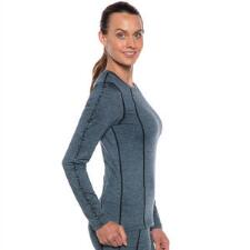 Kerrits Groundwork Heathered Long Sleeve Ladies Tee - TB