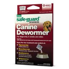 Merck Safe Guard Canine Dewormer 40 lb dog - TB