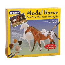 Breyer Paint Your Own Horse Activity Kit Quarter Horse And Saddlebred - TB