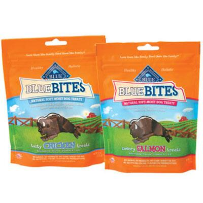 Blue Bites Natural Soft Moist Dog Treats 6 oz