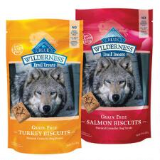 BLUE Wilderness Trail Treats Grain Free 10 oz - TB