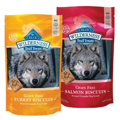 BLUE Wilderness Trail Treats Grain Free 10 oz