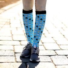 Dreamers and Schemers Outside Line Boot Socks Pair and A Spare - TB