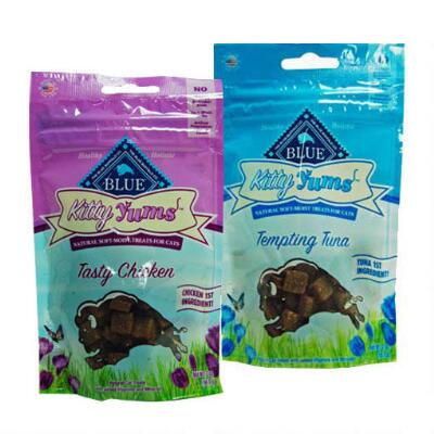 Blue Kitty Yums Natural Soft Moist Treats 2 oz