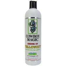 Cowboy Magic Shine In Yellowout Shampoo 16 oz - TB