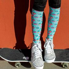 Dreamers and Schemers I Scream Boot Socks Pair and A Spare - TB