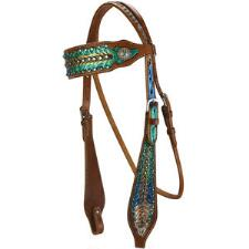 Azure Browband Headstall