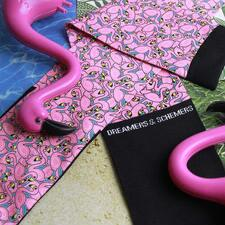 Dreamers and Schemers FlaminGO Boot Socks  Pair and A Spare - TB