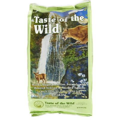 Taste of the Wild Rocky Mountain Cat Food 5 lb