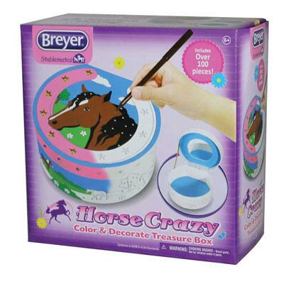 Breyer Creations Horse Crazy Color & Decorate Box