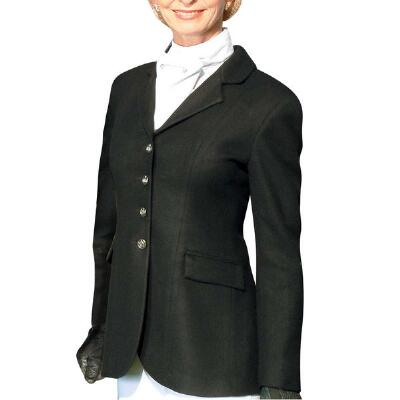 Nouvelle Ladies Stretch Dressage Coat Black