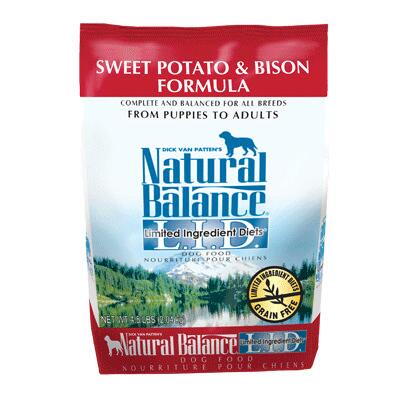 LID Sweet Potato & Bison 4.5 lb
