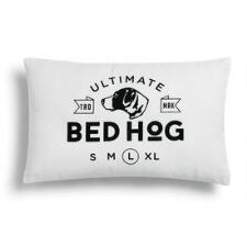 Ultimate Dog Bed Hog Throw Pillow - TB