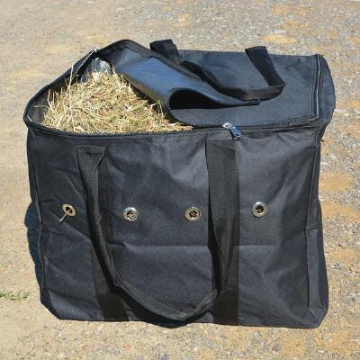 Nylon Half Bale Carrier with Nylon Lined Plastic Bottom