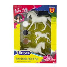 Breyer Stablemates Horse Family Paint & Play - TB