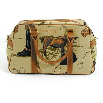 Equestrian Tapestry Carry On Duffle