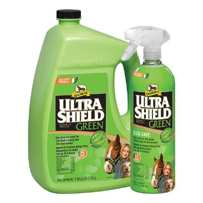 Absorbine Ultrashield Green Natural Fly Repellent 32 oz