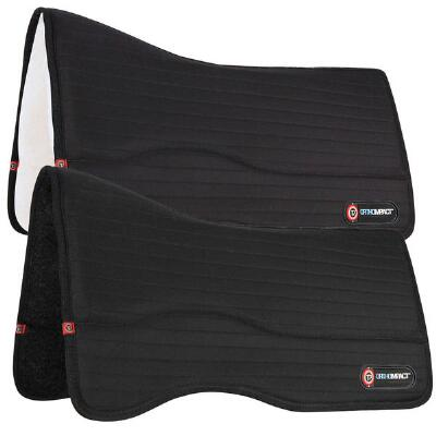 T3 Matrix  FlexForm Peformance Western Saddle Pad - Wool