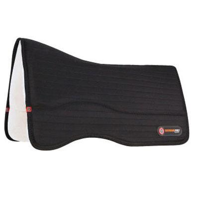 T3 Matrix Exreme Pro-Impact Performance Western Saddle Pad - Wool