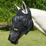 Absorbine UltraShield Fly Mask with Removable Nose No Ears - TB