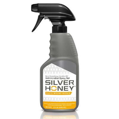Absorbine Silver Honey Rapid Wound Repair Spray Gel 8 oz