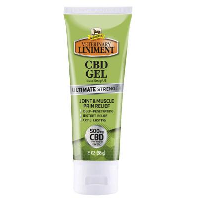 Absorbine Liniment Ultimate Strength CBD Gel 500 mg Concentrate 2 oz