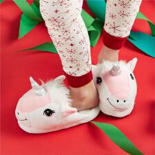 Happy Unicorn Youth Slippers - TB