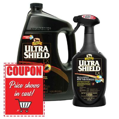Absorbine Ultrashield Ex Insecticide and Repellent 32 oz Spray 3 Pack Special