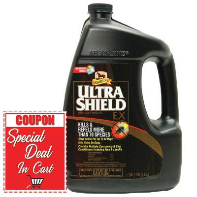 Absorbine Ultrashield Ex Insecticide and Repellent Gallon