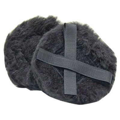 Fleece Helmet Ear Muffs With Ez Pull Fasteners