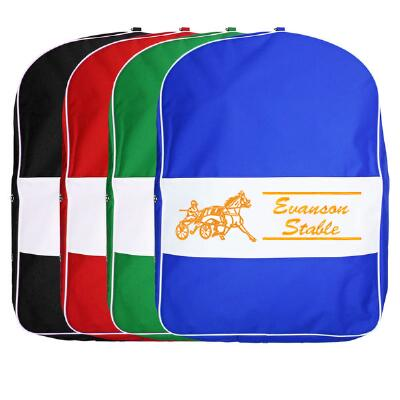 Harness Bag Custom Double Sided Strip Design Embroidered