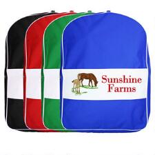 Harness Bag Single Side Strip Design Embroidered Full Color - TB