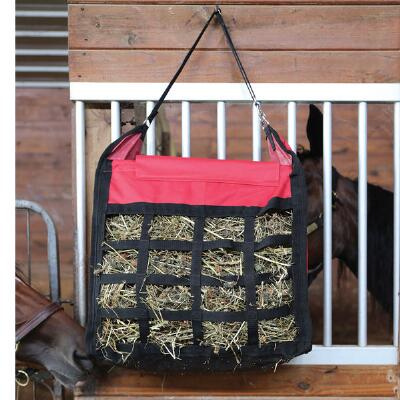 Nylon Hay Tote with Strap