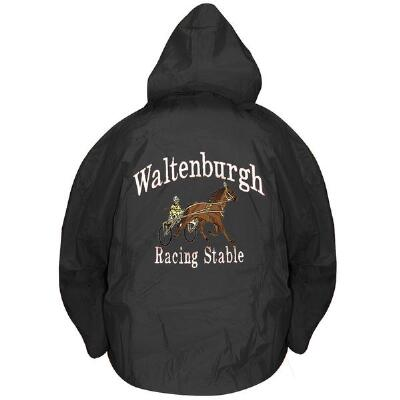 Rugger II Stable Jacket With Back Embroidery