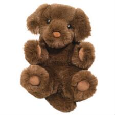 Douglas Lil Handfuls Chocolate Lab Plush Toy - TB