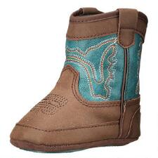 DBL Barrel Infant Open Range Baby Bucker Western Boot - TB