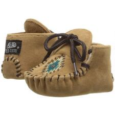 DBL Barrel Infant Ethan Baby Bucker Moccasin - TB