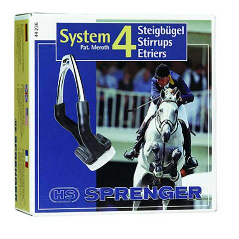 Herm Sprenger Hs System 4 Stirrups English Flex Tack 4